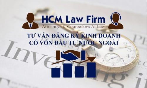 đăng ký kinh doanh có vốn đầu tư nước ngoài